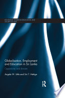 Globalisation  Employment and Education in Sri Lanka