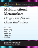 Multifunctional Metasurfaces