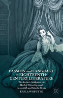 Passion and Language in Eighteenth Century Literature