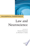 Philosophical Foundations Of Law And Neuroscience