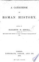 A Catechism of Roman History