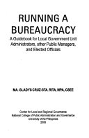 Running A Bureaucracy
