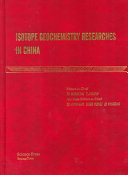 Isotope Geochemistry Researches in China Book