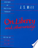 J  S  Mill   On Liberty  and Other Writings