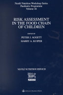 Risk Assessment in the Food Chain of Children