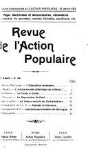 Revue de l'Action populaire