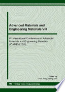 Advanced Materials And Engineering Materials VIII