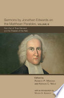 Sermons by Jonathan Edwards on the Matthean Parables, Volume III  : Fish Out of Their Element (on the Parable of the Net)