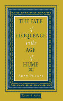 Pdf The Fate of Eloquence in the Age of Hume