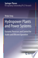 Hydropower Plants and Power Systems