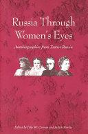 Russia Through Women s Eyes Book PDF