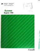 Access Register