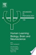Human Learning  Biology  Brain  and Neuroscience