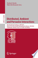 Distributed  Ambient and Pervasive Interactions Book PDF