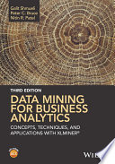 Data Mining for Business Analytics Book