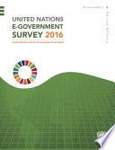 United Nations E-Government Survey 2016
