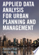 Applied Data Analysis for Urban Planning and Management Book