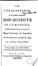 The Life and Exploits of the Ingenious Gentleman Don Quixote de la Mancha 2