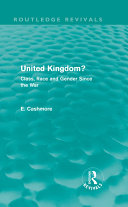 United Kingdom? (Routledge Revivals) Pdf/ePub eBook
