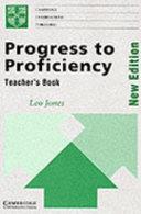 Progress to Proficiency Teacher's book
