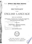 Webster S High School Dictionary Book PDF