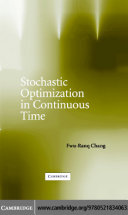 Stochastic Optimization in Continuous Time
