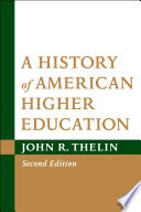 A History of American Higher Education Book PDF