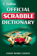 Collins Official Scrabble Dictionary Book