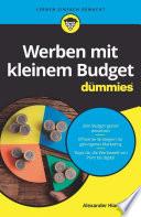 Öffnen Sie das Medium Werben mit kleinem Budget für dummies von Hiam, Alexander im Bibliothekskatalog