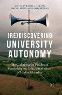 (Re)Discovering University Autonomy Pdf/ePub eBook