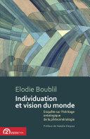 Individuation et vision du monde [Pdf/ePub] eBook