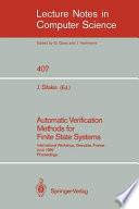 Automatic Verification Methods for Finite State Systems Book