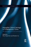 Intangible Cultural Heritage in Contemporary China Pdf/ePub eBook