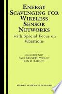 Energy Scavenging For Wireless Sensor Networks Book PDF