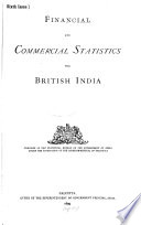 Financial and Commercial Statistics of British India