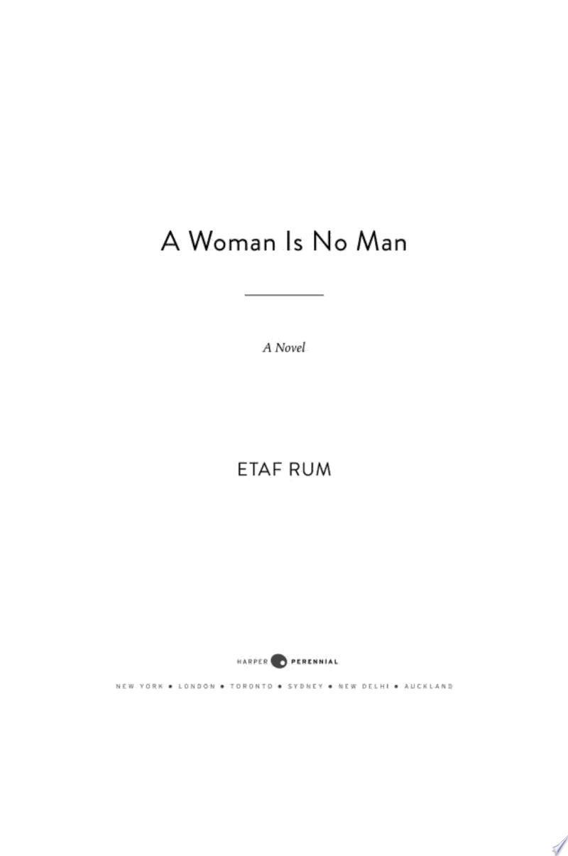 A Woman is No Man image