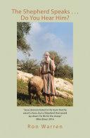The Shepherd Speaks . . . Do You Hear Him?
