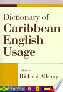 Dictionary of Caribbean English Usage