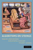 Algorithms on Strings