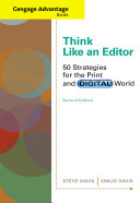 Pdf Cengage Advantage Books: Think Like an Editor: 50 Strategies for the Print and Digital World