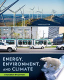 Energy, Environment, and Climate (Third Edition)