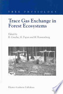 Trace Gas Exchange In Forest Ecosystems Book PDF