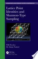 Lattice Point Identities and Shannon Type Sampling