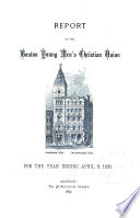 Report Of The Boston Young Men S Christian Union