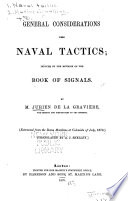 General Considerations Upon Naval Tactics