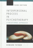 Interpersonal Process in Psychotherapy
