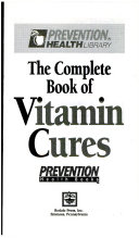The Complete Book of Vitamin Cures