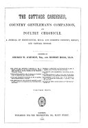 Cottage Gardener  Country Gentleman s Companion and Poultry Chronicle