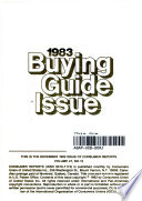 Consumer Reports Buying Guide 1983