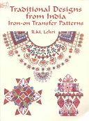 Traditional Designs from India Iron On Transfer Patterns